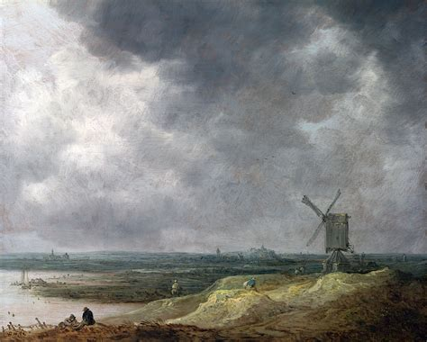 By A file goyen 1642 a windmill by a river jpg wikimedia commons