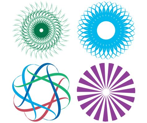 design elements images colorful shapes design elements vector free free vector