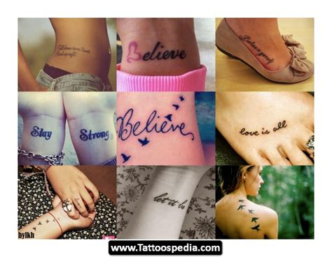 small inspirational tattoos designs and meanings inspirational small