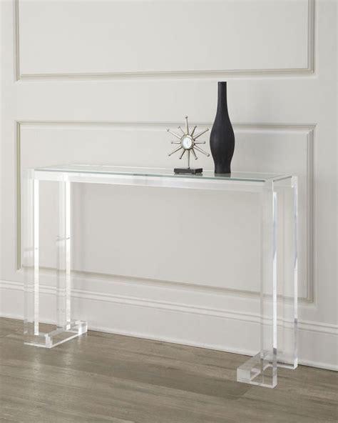 Lucite Sofa Table Lucite Sofa Table Acrylic Sofa Table On Wanelo Thesofa