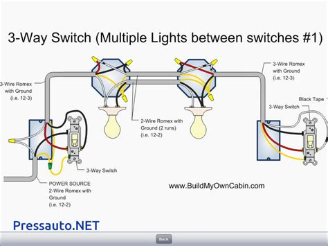three way light switch wiring diagram how to wire free