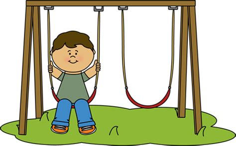 free online swinging kid swinging at recess clip art kid swinging at recess image