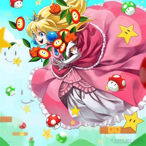 Baby Boat Princess princess toadstool by evilapple513 on deviantart