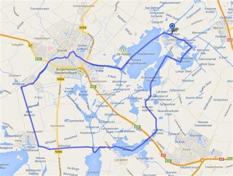 vaarroutes friesland motorboot huren yachtcharter - Heeg Naar Leeuwarden