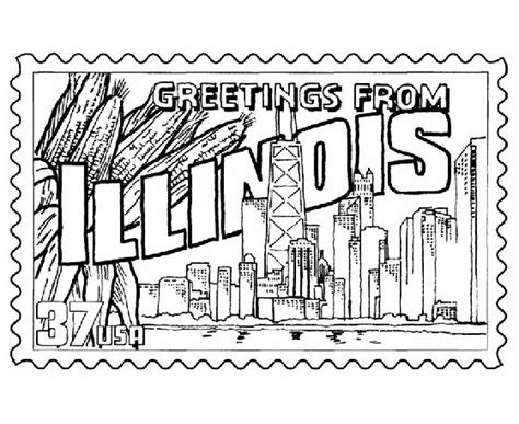 illinois state redbird free coloring pages