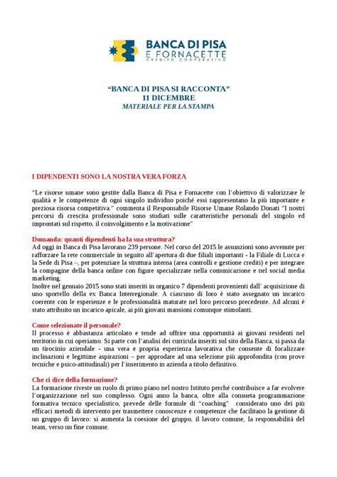 Banca Di Pisa E Fornacette Filiali by Banca Di Pisa E Fornacette By Pisainformaflash Issuu