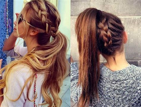 Hairstyles For Ponytails by Perfectly Easy Ponytail Hairstyles Hairdrome