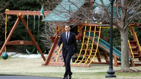 dc swing presidential daughters swing set removed from white house