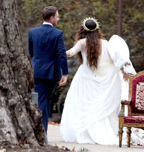 Troian Bellisario's Boho Wedding Dress: All the Details