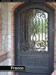Iron Gate Front Door Ornamental Iron Doors Monaco Doors