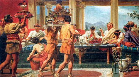 banchetti romani cocina griega or 237 genes y caracter 237 sticas sabor de grecia