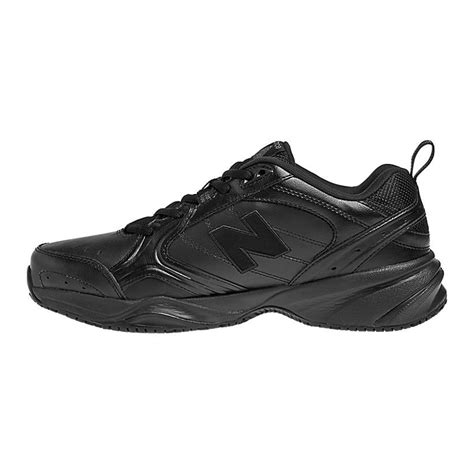 new balance slip resistant 626 mens work shoes black