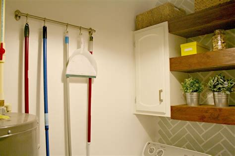 our laundry room decor ideas using shelves hometalk