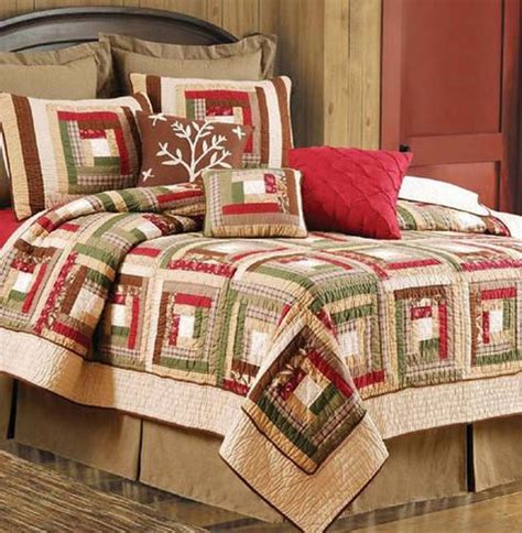 Discount Bedding Quilts forest quilt and bedding