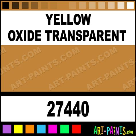 yellow oxide transparent artists paints 27440 yellow oxide transparent paint yellow