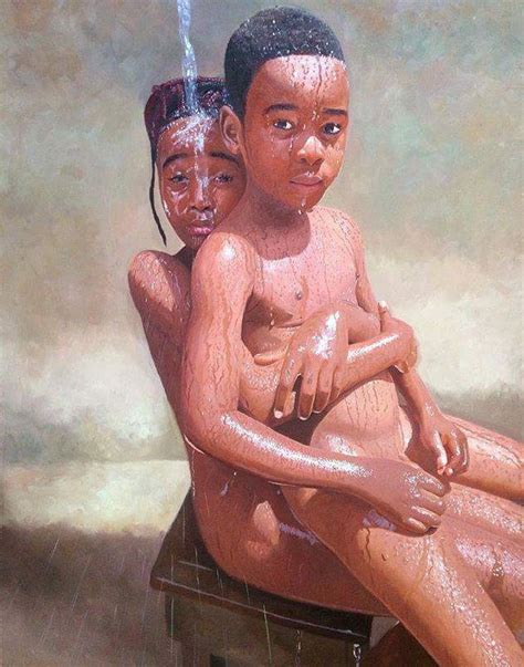 biography of nigerian artist these oil paintings by a nigerian painter are breaking the