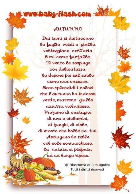 cornici autunno autunno baby flash
