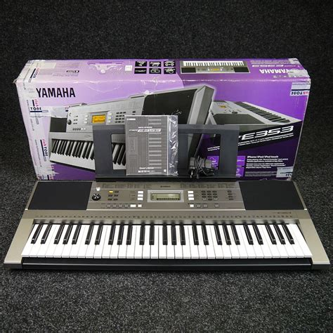 Keyboard Yamaha E353 yamaha psr e353 portable keyboard w box ex demo rich