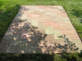 Paver Patio Base Build A Paver Patio Sand Base