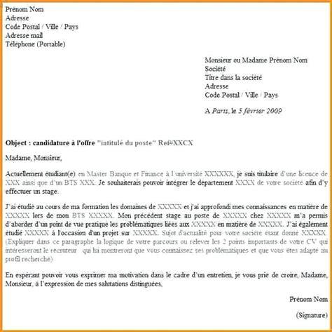 format lettre codesducambresis