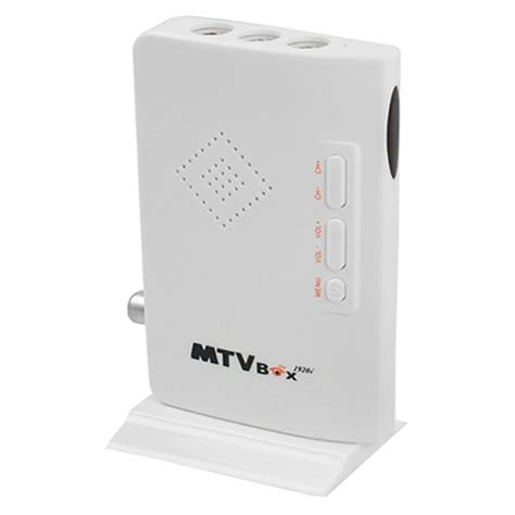 Tv Tuner Eksternal Tipe Box hd 1080p tv box external hd lcd crt vga external tv tuner mtv box pc box receiver tuner av to
