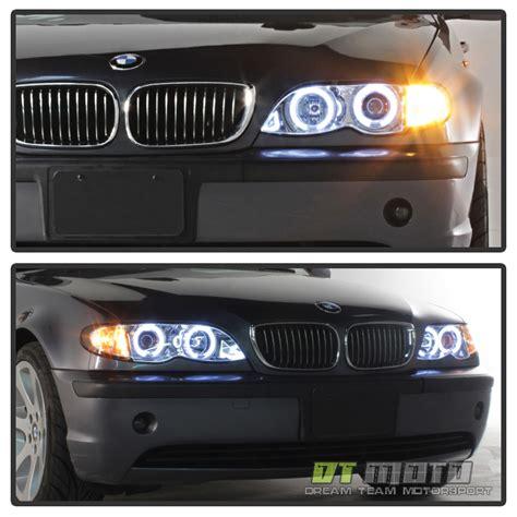 2002 bmw 330ci headlights 2002 2003 2004 2005 bmw e46 4dr sedan halo projector