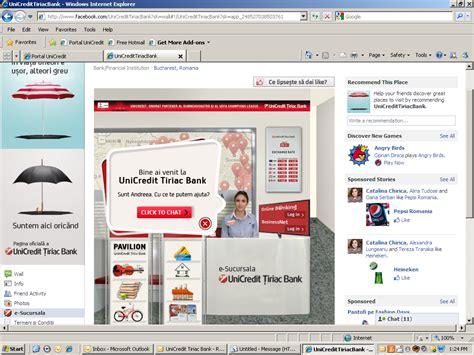 www unicredit on line sucursala unicredit tiriac bank pe kapra