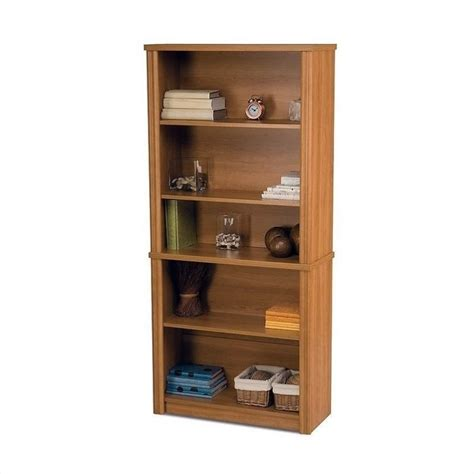 bestar embassy library set cappuccino cherry bookcase ebay