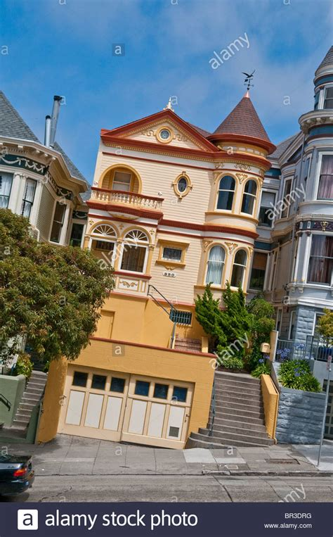buy house in california usa victorian style house in san francisco california usa stock photo royalty free