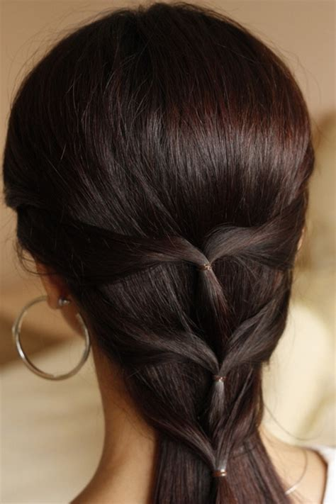 easy long hairstyle how tos cute simple hairstyles for long hair