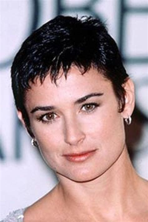 damy moore hair colour at home demi moore short hair demi hair styles pinterest