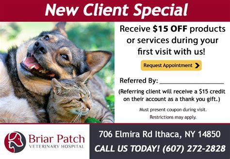 puppy patch elmira ny veterinarian specials in ithaca ny briar patch veterinary hospital