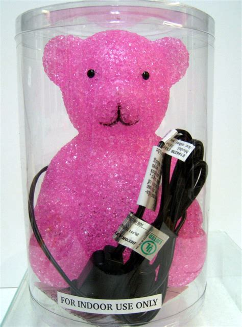 light pink teddy bear new pink teddy bear desk glow l night light bears