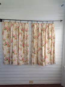 Etsy Kitchen Curtains Vintage Floral Curtains Vintage Kitchen Curtains Vintage