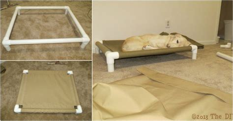 diy pvc dog bed how to make pvc dog bed how to instructions