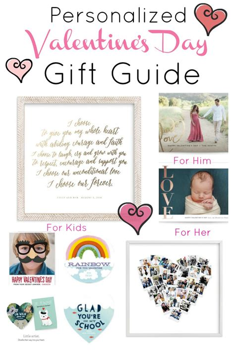 personalized gifts for valentines day personalized gift guide for s day for your
