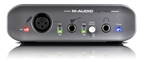 M Audio Fast Track Usb m audio fast track usb ii