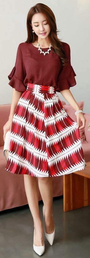 Abstract Flare Mini Dress 25 best ideas about flare skirt on flared