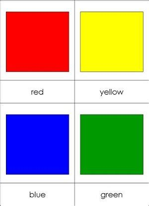 flash card maker colors colour nomenclature cards chart from montessori for everyone