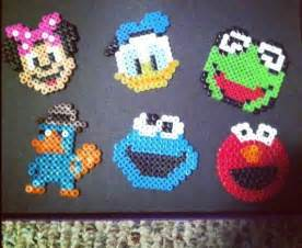 Now i have more disney perler bead patterns to finish before october