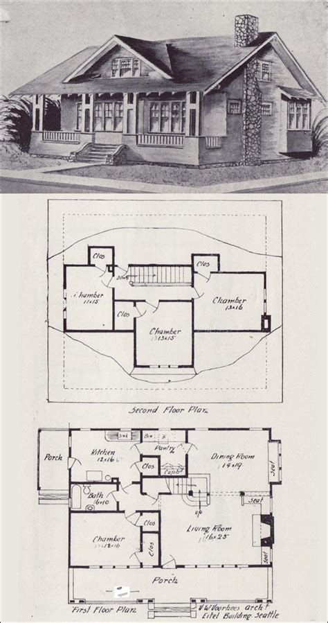 old floor plans vintage old house plans 1900s how to build plans