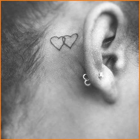 heartbeat tattoo behind ear behind ear tattoo tumblr tattoos pinterest heart