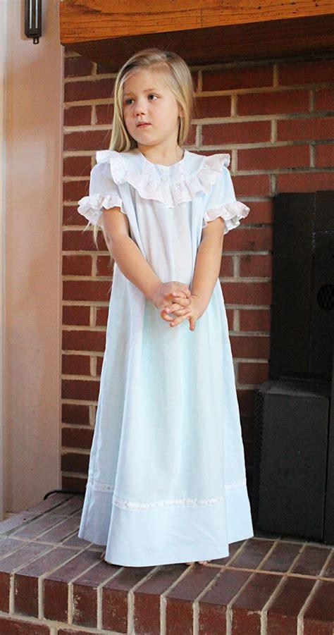Velin Dress cookie b sweet dreams nightgown pattern by lezette