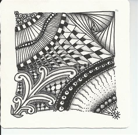 Zentangle Pattern Meaning | tangled up in art what is zentangle