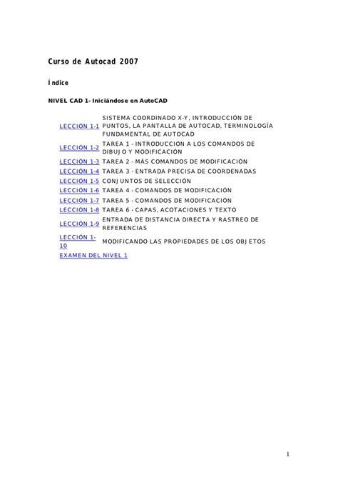 tutorial basico autocad 2007 español pdf curso autocad pdf autos post