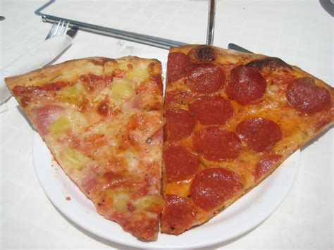 table pizza big vinnie pepperoni pizza almost like york at vinny s pizza the unvegan