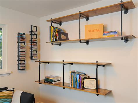 eclectic wall shelves hgtv