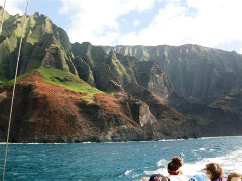 catamaran tours kauai na pali coast from the lucky lady catamaran picture of