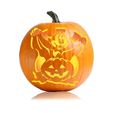 mickey mouse vire pumpkin template mickey character pumpkin carving ideas