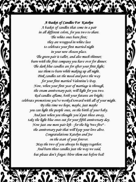 printable bridal shower poems pinterest the world s catalog of ideas